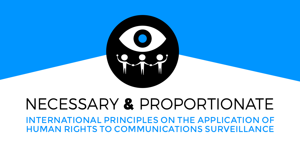 The Principles of Communications Surveillance
