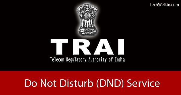 National Do Not Disturb Registry